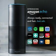 Amazon Echo Original Alexa Smart Speaker Assistant BLACK BNIB Fast Dispatch NEW