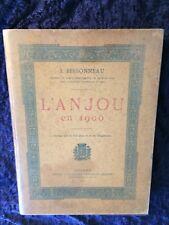 L'Anjou en 1900 - Bessonneau - régionalisme Maine et Loire-signé auteur Gravure