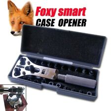 WATCH REPAIR TOOL - SCREW  BACK  WATCH CASE OPENER WITH 6 SETS OF CLAMPS