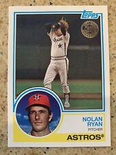 2018 Topps Series 1  Nolan Ryan 35th Anniversary Card-83-18