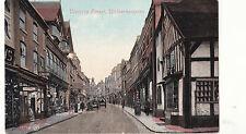 Staffordshire postcard VICTORIA STREET, WOLVERHAMPTON by Valentines early 1900's