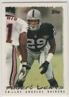 1995 Topps Football Los Angeles Raiders team set