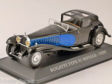 1929 Bugatti Tipo 41 Royale 1/43 Modelo a escala Altaya