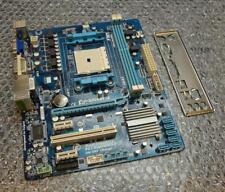 Gigabyte GA-A55M-S2V REV: 1.0 Socket FM1 Motherboard complete with Back Plate