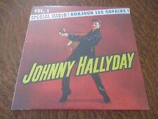 RARE 33 tours JOHNNY HALLYDAY special radio! bonjour les copains! volume 1 2012