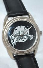 Planet Hollywood by Fossil Watch Black Dial & Leather Band in Display Tin PL-117