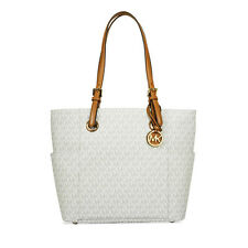 Michael Kors Jet Set Travel Small Logo Tote - Vanilla