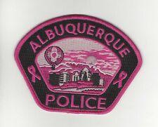 Albuquerque Police- Pink Cancer Awareness Patch
