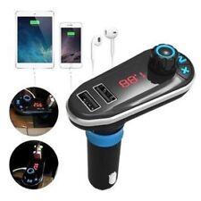 Bluetooth Car Kit MP3 Player FM Transmitter Dual USB Car Charger Remote Control