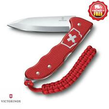 Victorinox Hunter Pro Alox Swiss Army Knife with Clip and Lanyard Red
