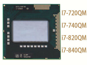 Intel Core i7 i7 720QM i7 740QM i7 820QM i7 840QM Socket G1 Processor