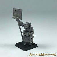 Metal Empire Flagellant Standard Bearer Command - Warhammer Age of Sigmar X2606