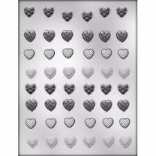 Mini Heart Assortment Candy Mold from CK  #1124