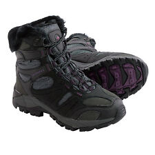 8 M MERRELL KIANDRA Women's Black Waterproof Hiking Outdoor Winter Snow Boots