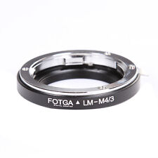 FOTGA Leica M LM Lens to Micro4/3 M4/3 Adapter for Panasonic G10 G5X Olympus EP3