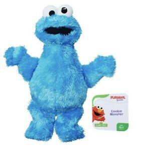 Playskool Friends Sesame Street Cookie Monster Mini Plush Preschool Stuffed Toy