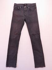 APC New Standard Jeans Men's Sze 29 GREY STRETCH FADE Distressed Classique Denim
