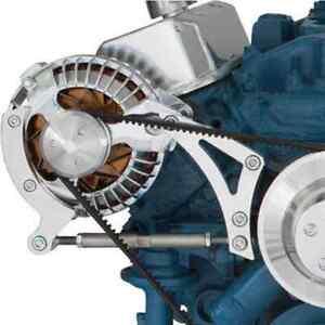 Billet Aluminum Alternator Bracket 318 340 360 V-Belt Mopar Chrysler SB Dodge