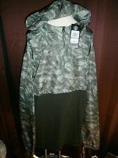NWT Under Armour Men's Size 2XL Sportstyle Anorak 1/2 Zip Jacket Windproof Camo