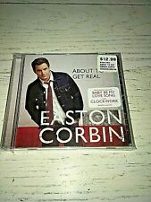 Easton Corbin About To Get Real Music CD Mercury Records NEW & SEALED