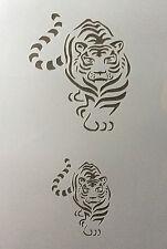 Tiger Animal Mylar Réutilisable Pochoir Aérographe Peinture Art Craft bricolage Home Decor