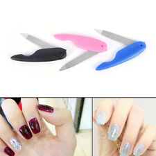 1Pc Foldable Stainless Steel Metal Nail Art New Pedicure Tool File Manicure Ras