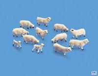 5110 Modelscene OO Gauge Animals Sheep & lambs