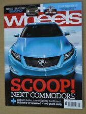 Wheels May 2011 Lexus IS350 Volvo S60 T6 Holden Caprice USA Police Car Export