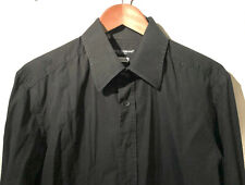 "SUPERB DOLCE&GABBANA CASUAL BLACK LONGSLEEVE SHIRT 16,5"" SIZE 42 TAILORED FIT"
