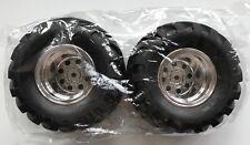 Tamiya 9805619/19805619 Selvaggio Willy 2 Rear GOMMA & Ruota (2 Pz) ( Mad Bull )