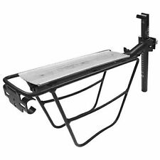 Tortec Explorer Rear Seatpost Mounted Bike/Cycle/Cycling Pannier Rack - Silver