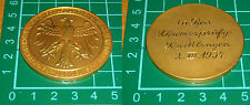 rara medaglia tedesca 1934 fachschaft dachshunde hundewesen fur