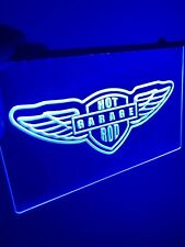 Garage Room, Hot Rod Led Light Neon Sign for Game Room,Office,Bar,Man Cave, New!