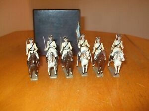 Mignot Mounted Cavalry--Lois X1V? toy soldiers