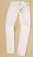 New Replay Tracie Womens White Jeans Slim Fit Ladies Denim 8005295 UK10 24W 32L