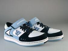 $95 NEW Warrior Low Dog Strap Lifestyle Shoe - Hopkins Blue Black White Sz 9.5