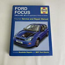 Ford focus 1998 to 2001 Haynes Car manual Maintenance Book