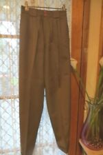 VINTAGE 80'S does 40'S ~ JUMP ~ Mushroom PANTS/Cuffs * Size 8 *
