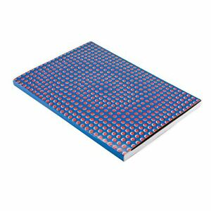 Daycraft A4 Lined Blue/Red Notebook Graphic Grid Cover School/Office Stationary