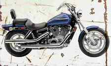 Honda Shadow Spirit1100 2006 Aged Vintage SIGN A4 Retro