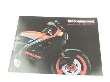 NOS 1987 Honda 1000 Hurricane CBR1000F Dealer Brochure L1080