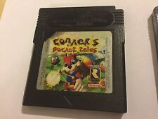 NINTENDO GAMEBOY COLOR GBC GAME CARTRIDGE CONKER'S POCKET TALES