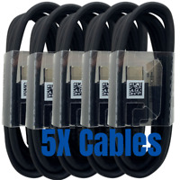 5Pack 4ft OEM USB C Type C Cable Lot Fast Charging Cord Samsung Android Charger