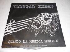 ILLEGAL IDEAS ITALIAN LP PUNK HARD ROCK *