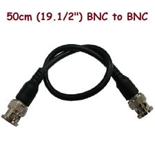 "Sunvision Cctv 50cm (19.1/2"") Bnc-M to Bnc-M Coaxial Conversion Cables (Cp09)"