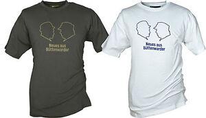 Neues aus Büttenwarder: Brakelmann T-Shirt  Adsche Hemd oliv + weiß