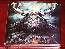 Testament: Dark Roots Of The Earth, Deluxe Edition CD + DVD Set 2012 Digipak NEW