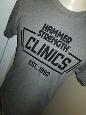 Mens HAMMER STRENGTH Clinics Fitness Workout Shirt Exercise Weight Lifting Small