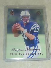 1998 Edge First Place Top Rookie AFC Peyton Manning Denver Broncos Colts #135 RC