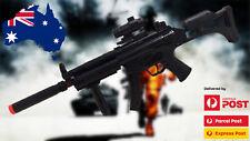 Electric Toy MP5 Machine Gun Electric plastic toy gun Submachine Gun Vibratiion